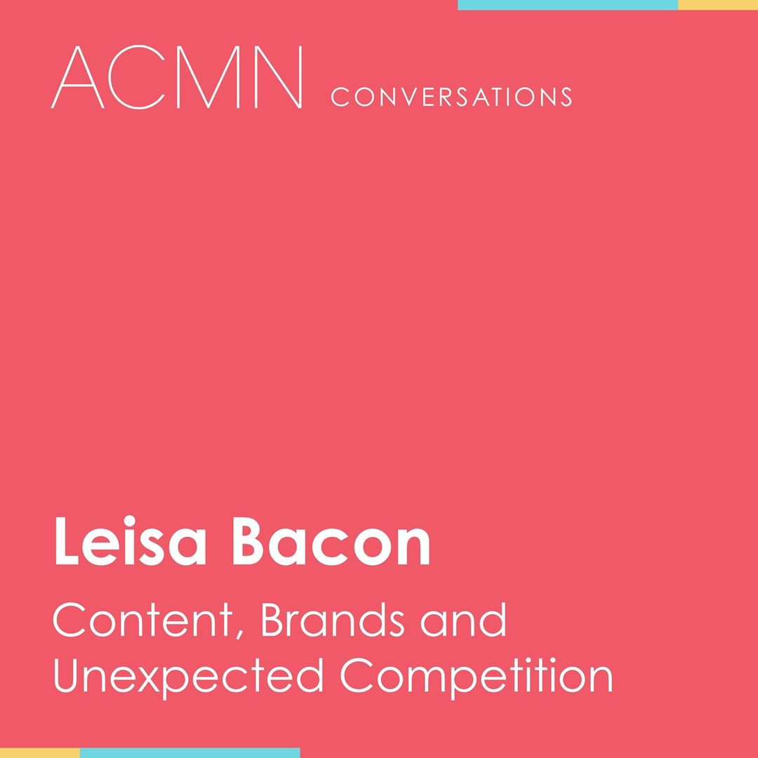 Content, Brands and Unexpected Competition